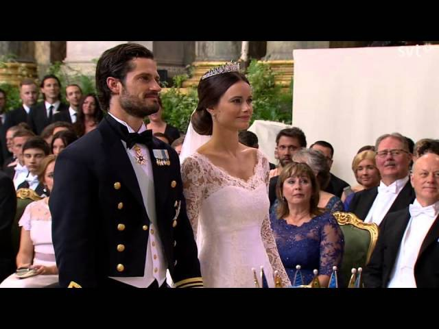Prince Carl Philip of Sweden Sofia (Wedding ceremony) (June 2015)