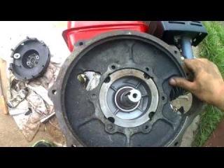 Honda GX 390 13HP Clone Engine Instal Process On HTZ T-012 Mini Tractor