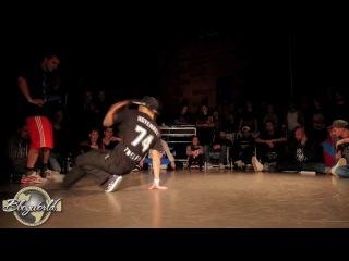 """Bboy Apache """"Footwork skills"""" at Art of Breaking"""