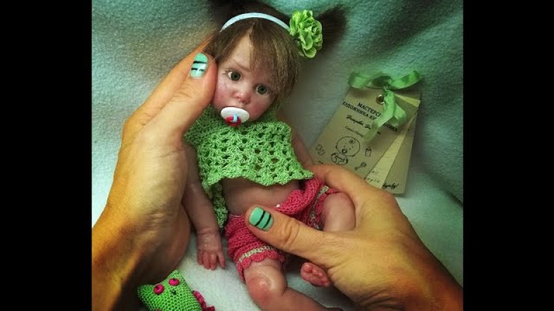 Авторская кукла из силикона Полина Silicone author's doll Paulina