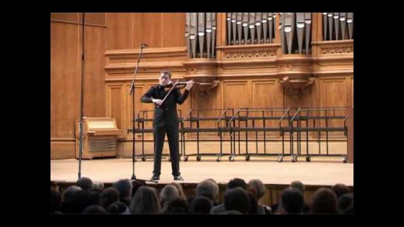 J. S. Bach: Sonata for solo violin in g minor, Fuga (Kristóf Baráti)