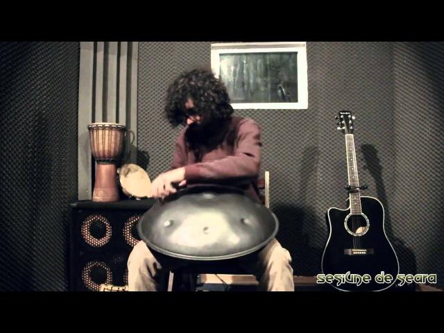 Fernando Lyra playing the Hang drum Live@Thejam Sesiune de Seara