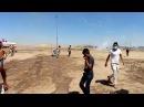 [Видео] Турецкая армия стреляет слезоточивым газом на курдских демонстрантов в #Kobani