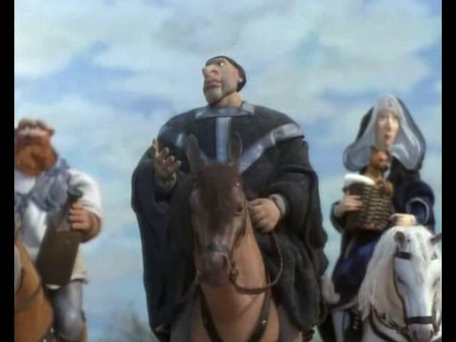 Кентерберийские рассказы 1 Отъезд из Лондона Аида Зябликова 1998 г Мультфильм Детский
