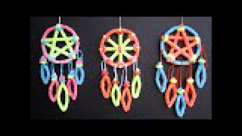 DIY Crystal Dreamcatcher | Borax Crystals Science Experiment For Kids | DIY Pipe Cleaner Crafts