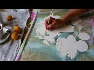 Рисуем акварелью: Ромашковое утро