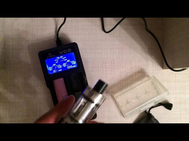 Обзор №9 / Зарядник Xtar VC2 / Fasttech