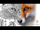 Pointillism art by Nadiya Vasilkova