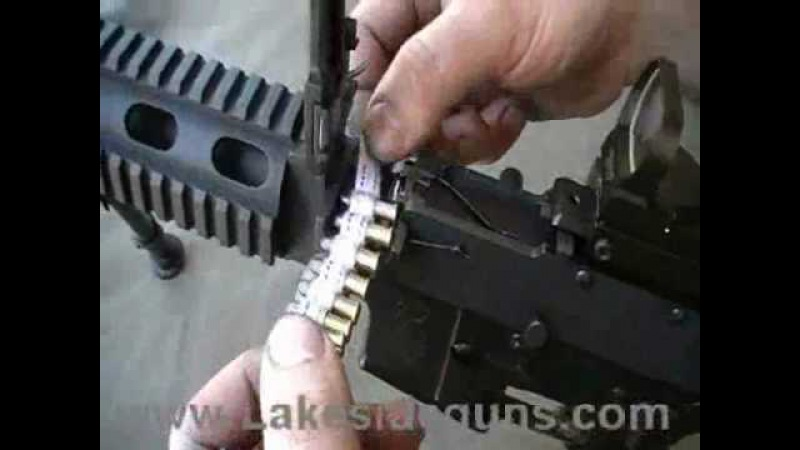 Razorback 22LR Beltfed Conversion for the AR15 rifle
