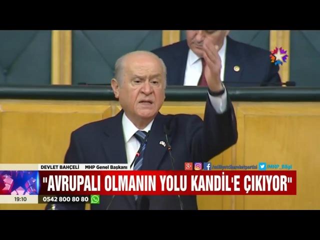 Avrupalı olmanın yolu Kandil'e çıkıyor, Türk düşmanlığında sabitleniyorsa biz bize yeteriz.