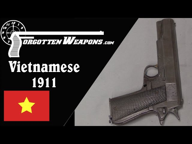 Vietnamese Crude Blowback 1911 Copy