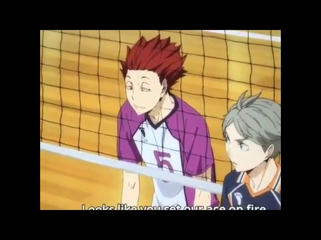 HOW FANGIRLS WATCH HAIKYUU