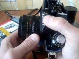 установка диафрагмы на фотообъективе ГЕЛИОС 44 2, 44 3, 44 4.