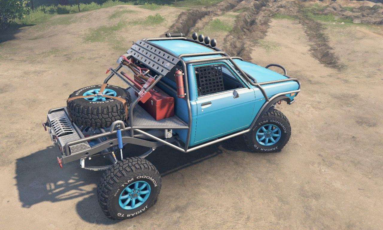 Datsun Truggy BC для 03.03.16 для Spintires - Скриншот 2