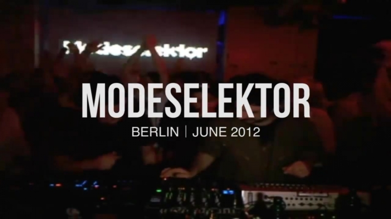 From The Vaults: Techno: Modeselektor