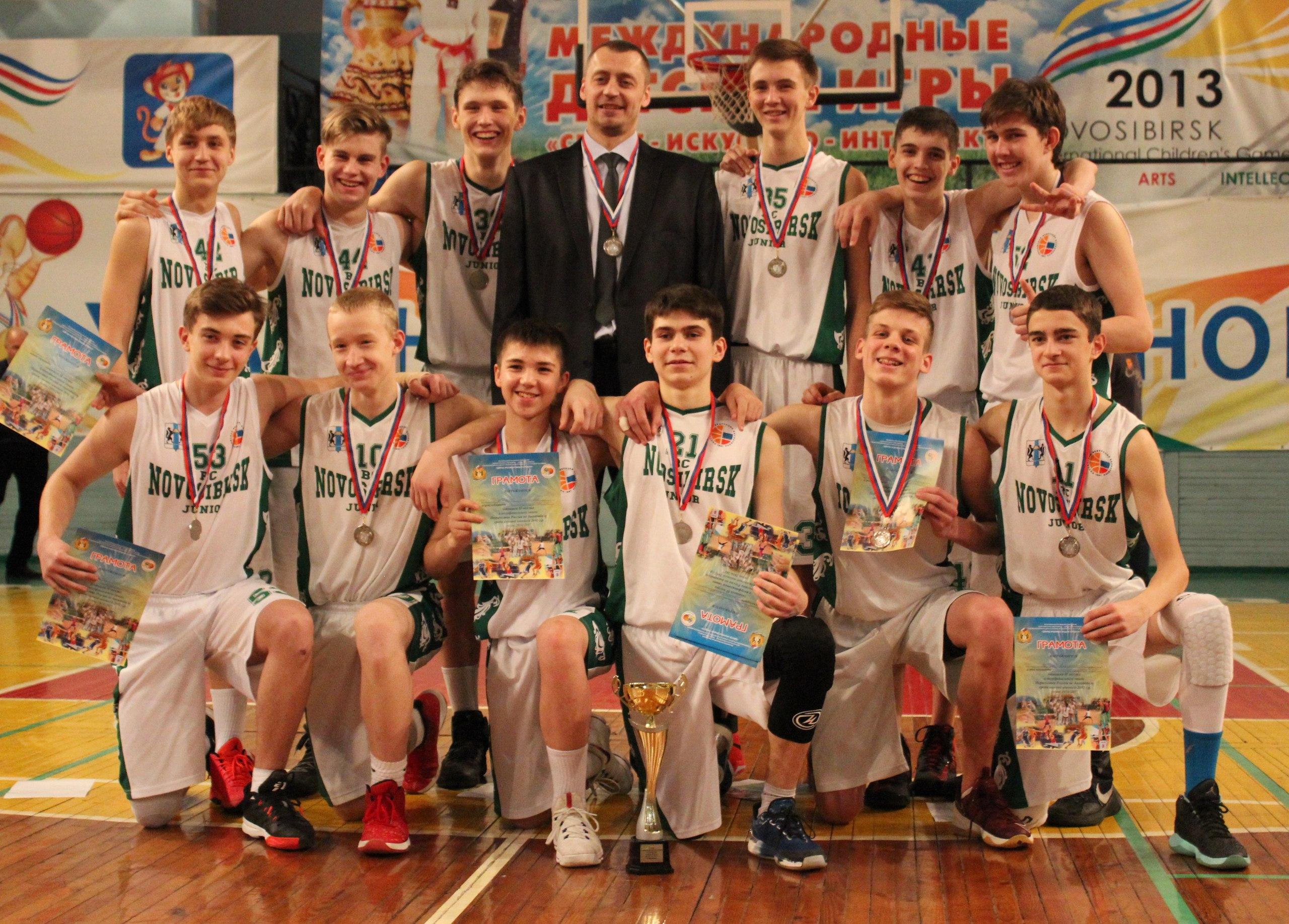 Команда СДЮСШОР ЦИВС по баскетболу