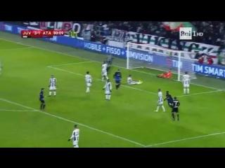 Ювентус 3-2 Аталанта. Обзор матча
