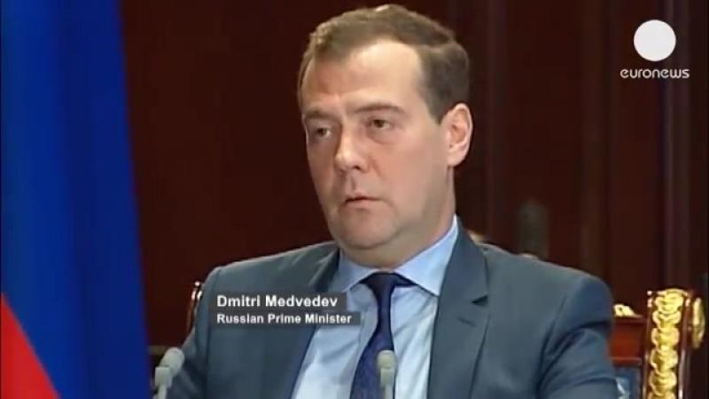 Медведев: «там продолжают ГРАБИТЬ НАГРАБЛЕННОЕ» — об офшорах РФ бизнеса и счетах российских госструктур на Кипре (25.03.2013)