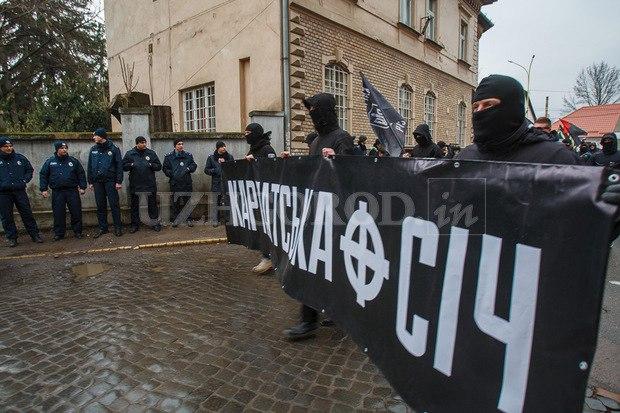 Karpatszka Szics felvonulása Ungváron, képanyag: 64 kép W-_pxBa-BlA