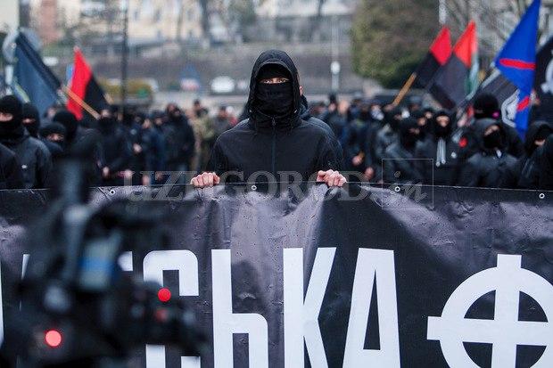 Karpatszka Szics felvonulása Ungváron, képanyag: 64 kép WoSzYl1id4I