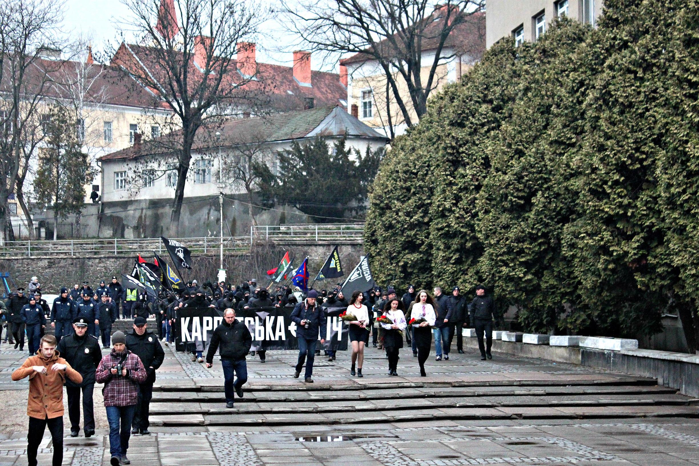 Karpatszka Szics felvonulása Ungváron, képanyag: 64 kép Oma8ixxapTQ