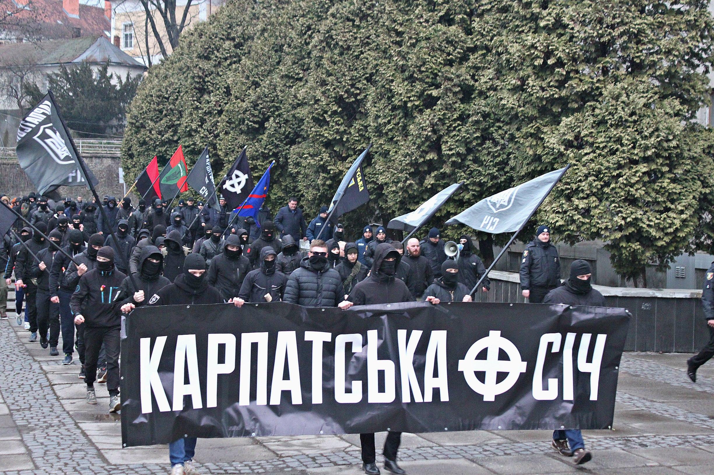 Karpatszka Szics felvonulása Ungváron, képanyag: 64 kép 1mSvpBsg_xo