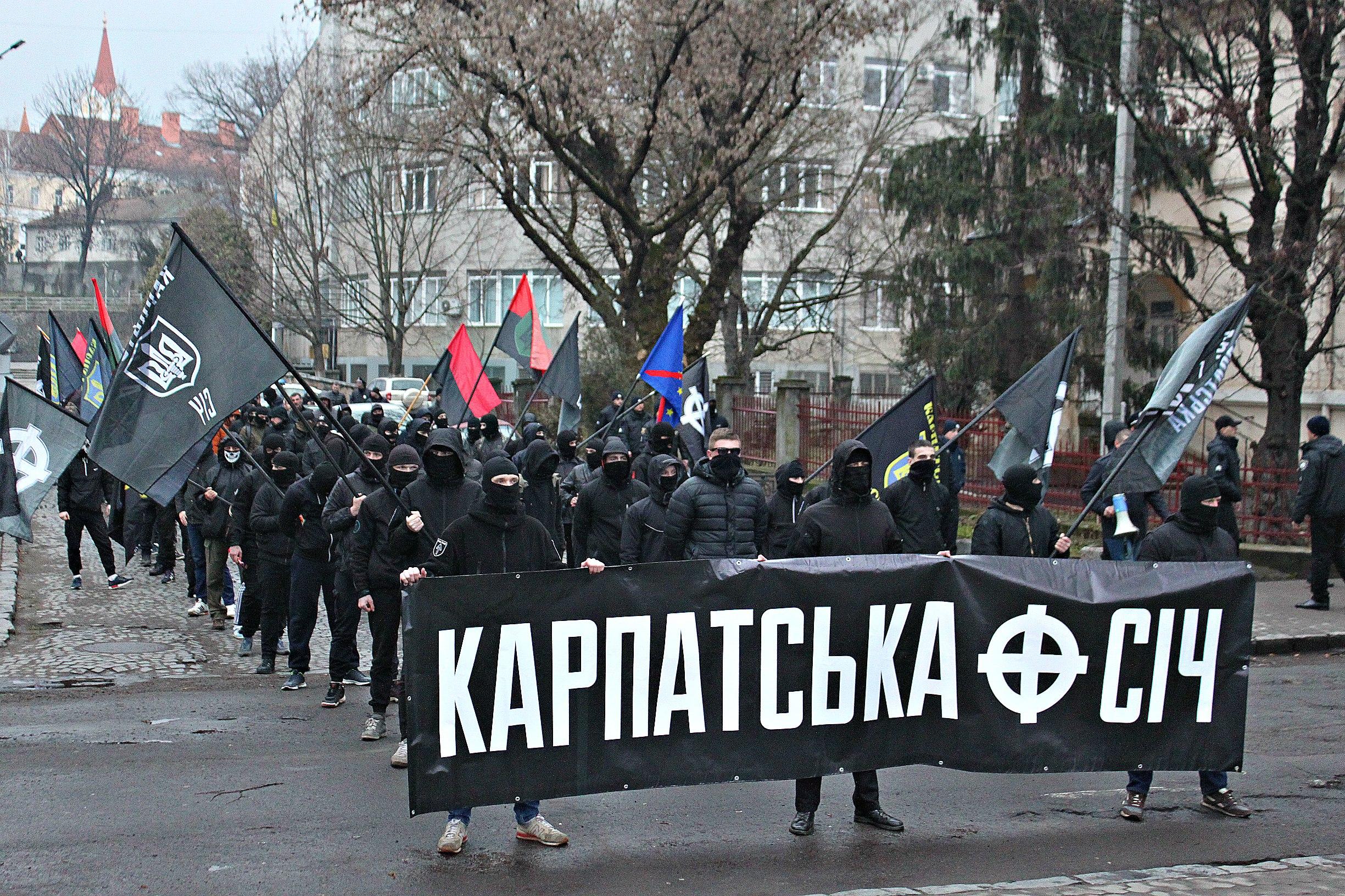 Karpatszka Szics felvonulása Ungváron, képanyag: 64 kép CnGFmRsQY3U