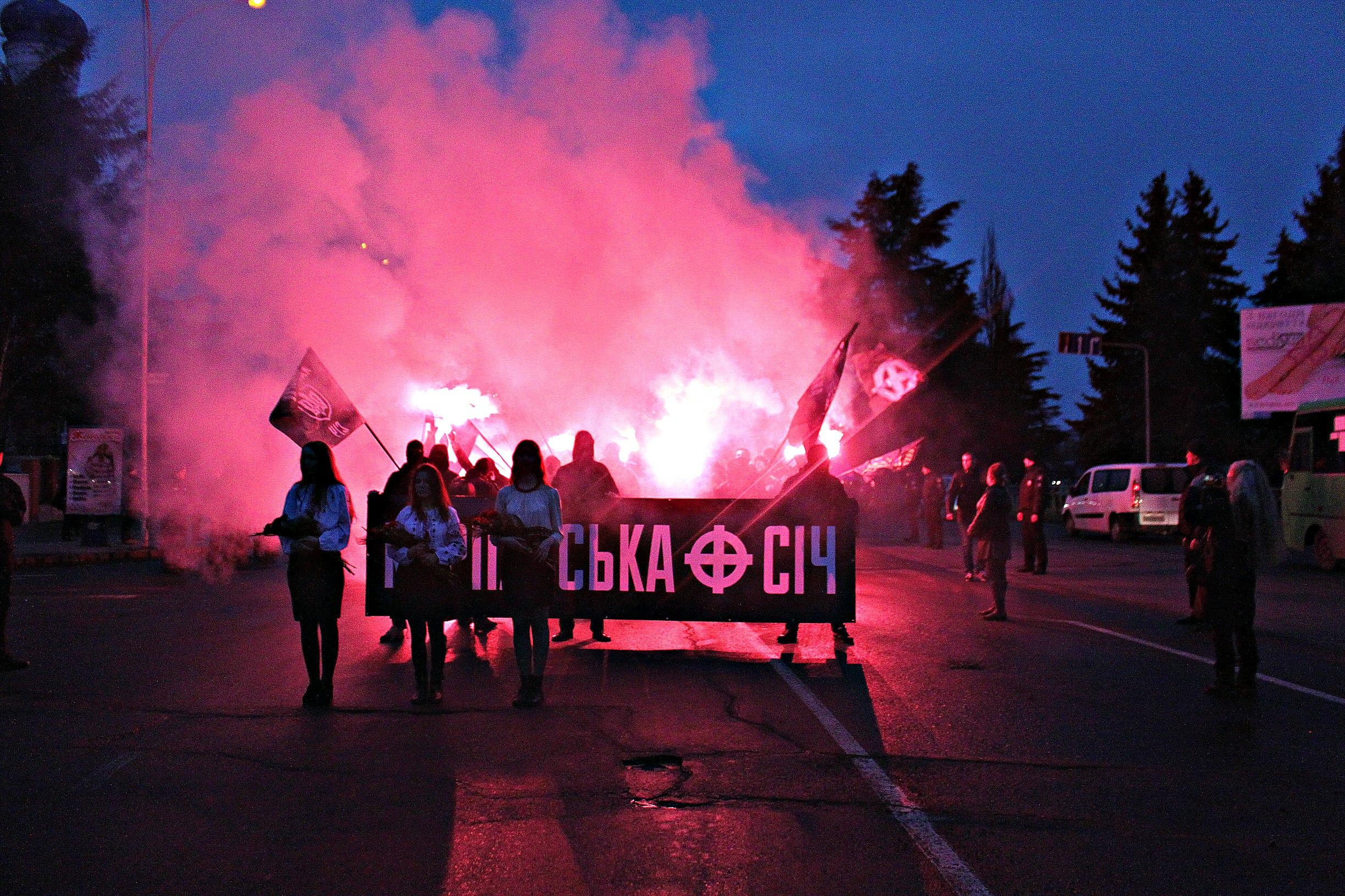 Karpatszka Szics felvonulása Ungváron, képanyag: 64 kép 4PsJJjQtde4