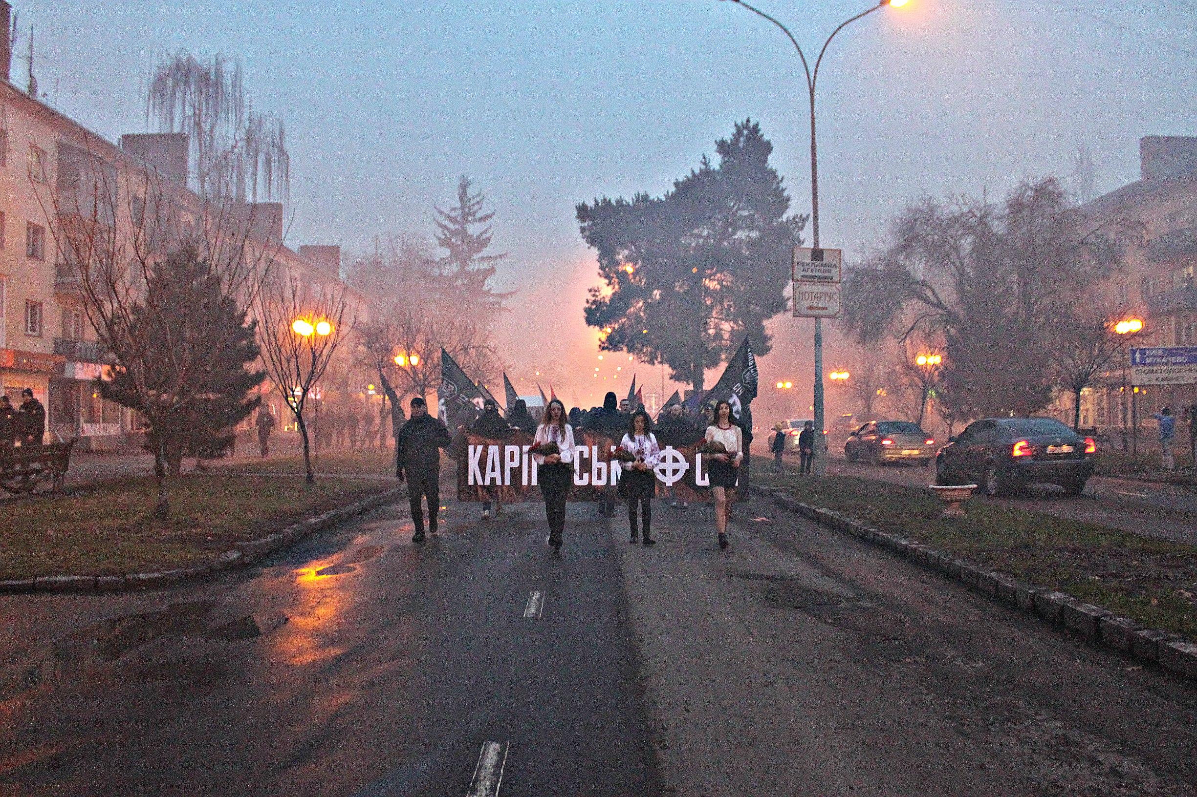 Karpatszka Szics felvonulása Ungváron, képanyag: 64 kép OWeAWriw7IM
