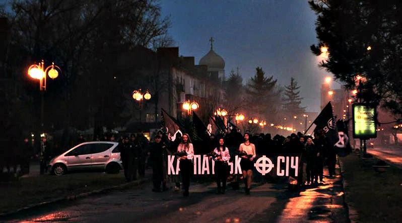 Karpatszka Szics felvonulása Ungváron, képanyag: 64 kép CKC7J0vzciY