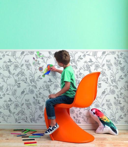 Подборка детских коллекций обоев от популярных брендов.