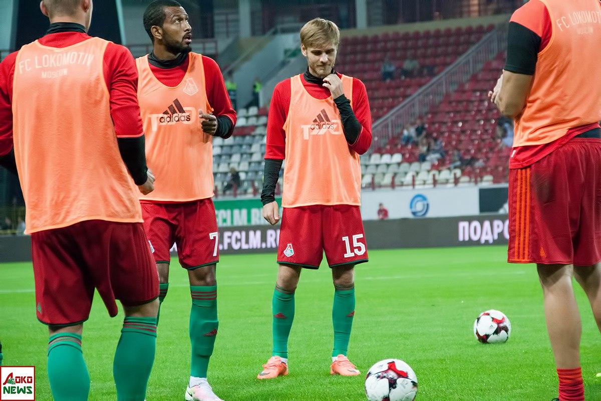 Маркес Майкон и Арсений Логашов. Фото: Дмитрий Бурдонов / Loko.News