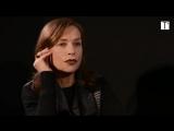 Запись со стрима Изабель Юппер для Телерамы (20.01.2017) | Isabelle Huppert
