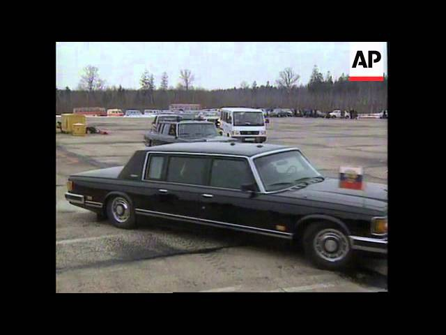 Визит Бориса Ельцина в Беларусь, 21 февраля 1995 года / BELARUS: BORIS YELTSIN VISIT » Freewka.com - Смотреть онлайн в хорощем качестве