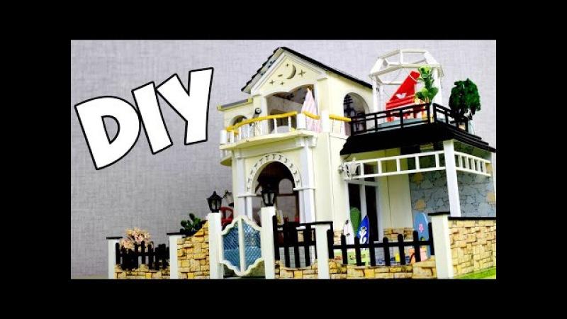 Необыкновенный КУКОЛЬНЫЙ ДОМ своими руками / DIY Roombox Dollhouse