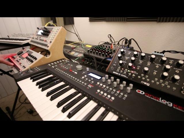 New Order Blue Monday, Elektron Analog Keys/Machinedrum/Monomachine/Mother 32/Minilogue Demo