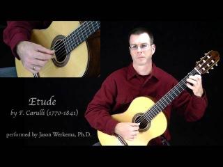 Etude in A minor by Ferdinando Carulli -HD
