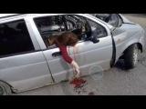 Ужасная авария в Казани (жесть, 18+)