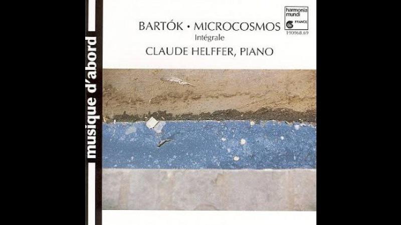 Béla Bartók, Microcosmos, Part I, II III, complete, Claude Helffer