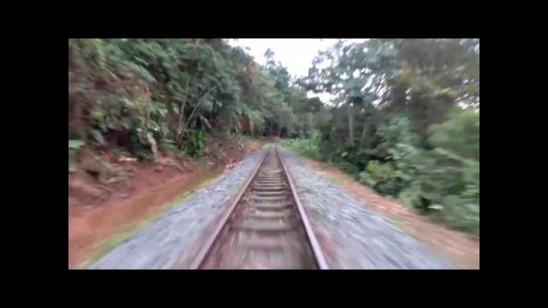 Узкоколейная железная дорога в Колумбии. Захватывающее путешествие пионерки