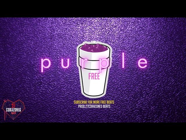 'purple' insane FREE trap beat 2017 hard 808 bass - aggressive type beat - prod.27CorazonesBeats
