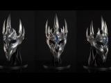 World of Warcraft: Wrath of the Lich King Как сделать маску Король Лич (корона) из WOW