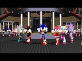 MMD &amp Sonic Feel the sound