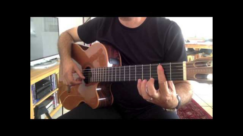 FİRUZE Gitar Solo FINGERTYLE Cover