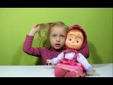 Маша и Медведь. Интерактивная кукла говорящая Маша Masha and the Bear. The interactive doll Masha