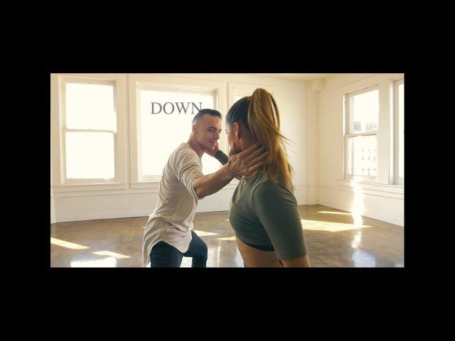 Down @marianhillmusic   Choreography by @IaMEmiliodosal @erica_klein