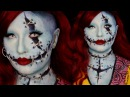 Sally Nightmare Before Christmas Special FX Halloween Makeup Tutorial