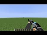 Тест оружия AK-47 и M4A1-S из будущего обновления The Wortex.