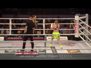 Glory 33 New Jersey SuperFight Series - Jessica Gladstone vs Daniela Graf