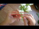 МК Цветы из фоамирана. Ободок с бутонными розами из фоамирана